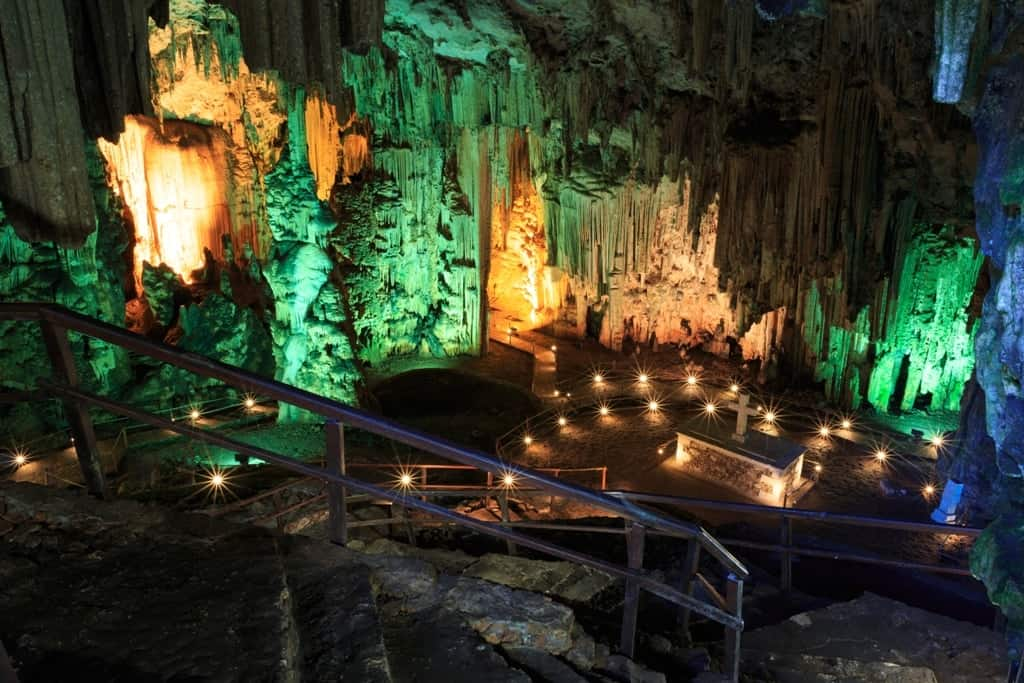The Melidoni cave