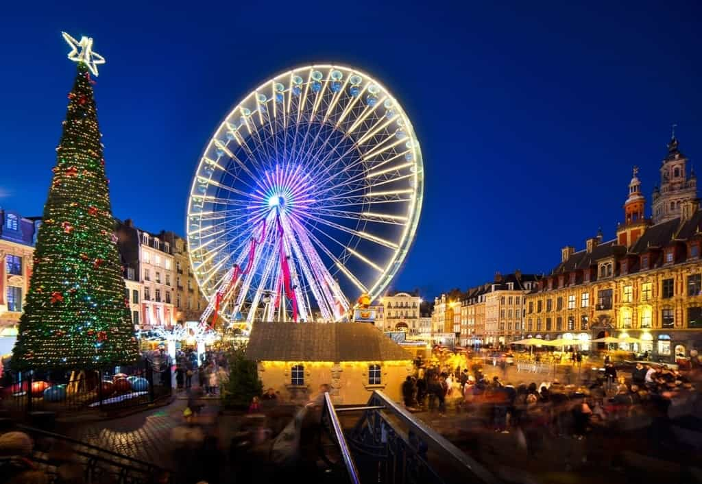 the best christmas markets in france lille - France Christmas