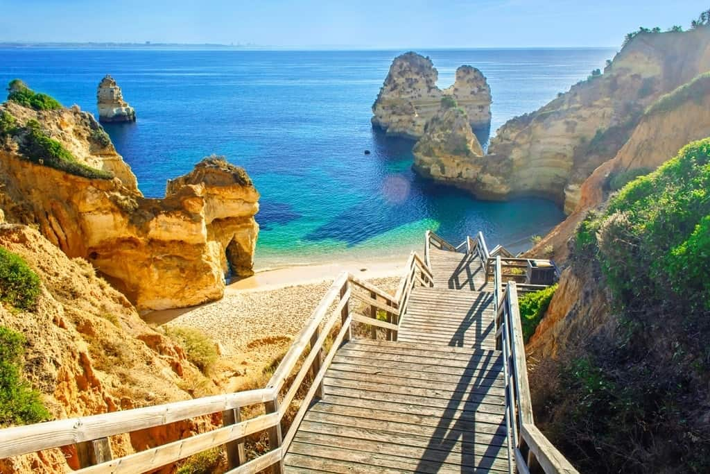 Warmest Places in Europe in December - Algarve