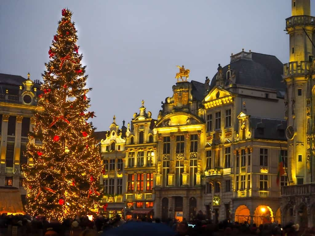 The best city to spend Christmas in Europe - Brussels