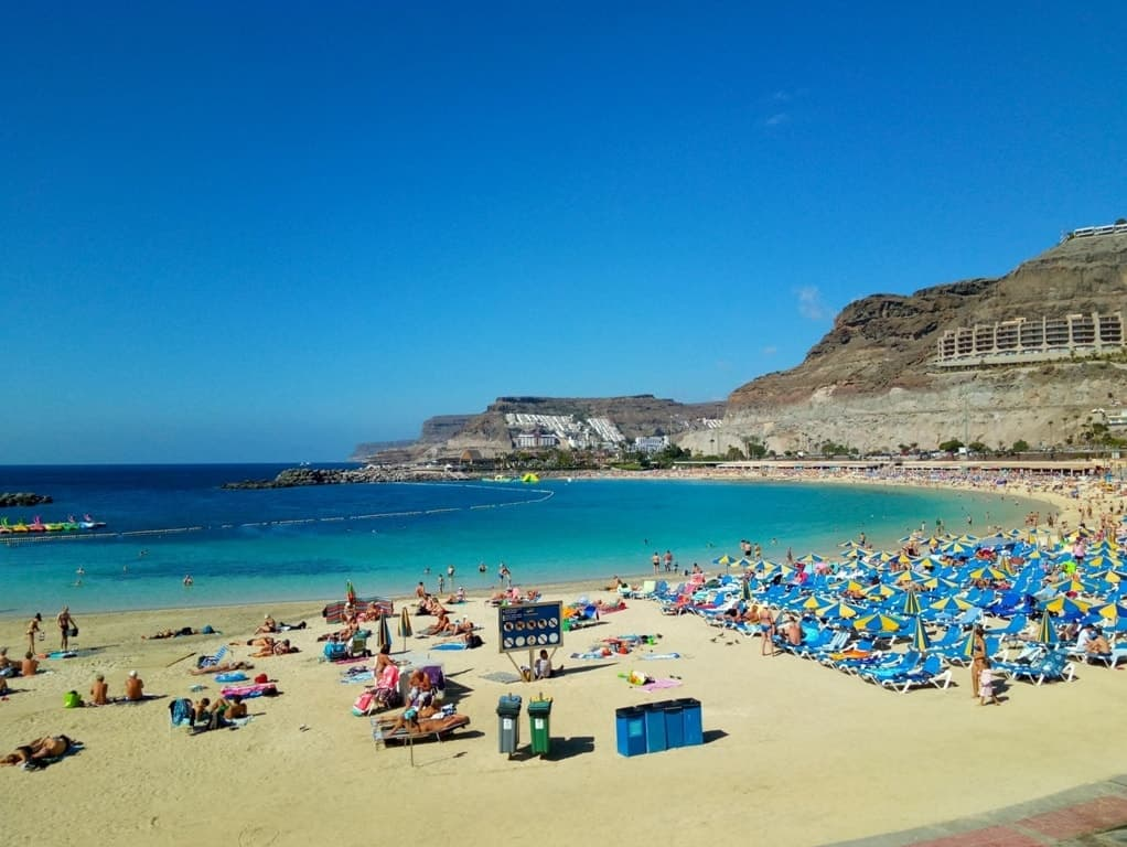 Warmest Places in Europe to Visit in December - Gran Canaria