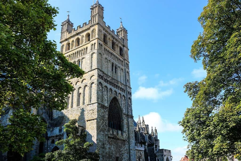 Exeter Cathedral - Places to visit in Devon