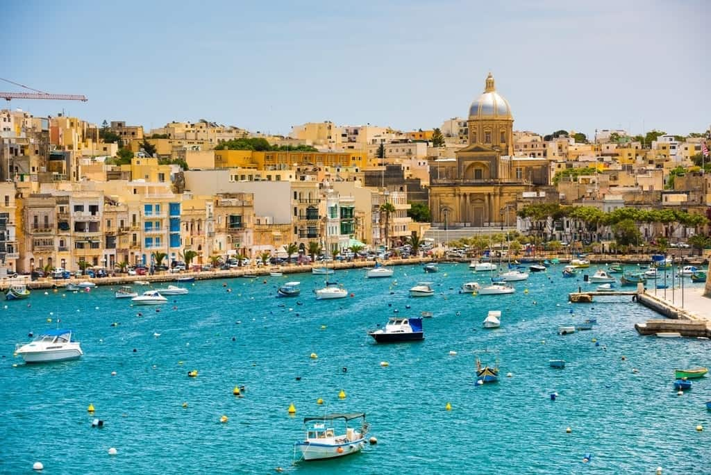 Warmest Places in Europe to Visit in December - Malta