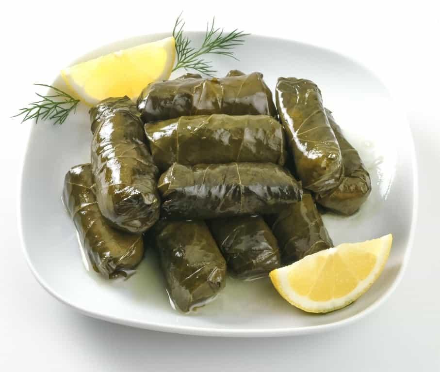 Dolmadakia - popular Greek dishes