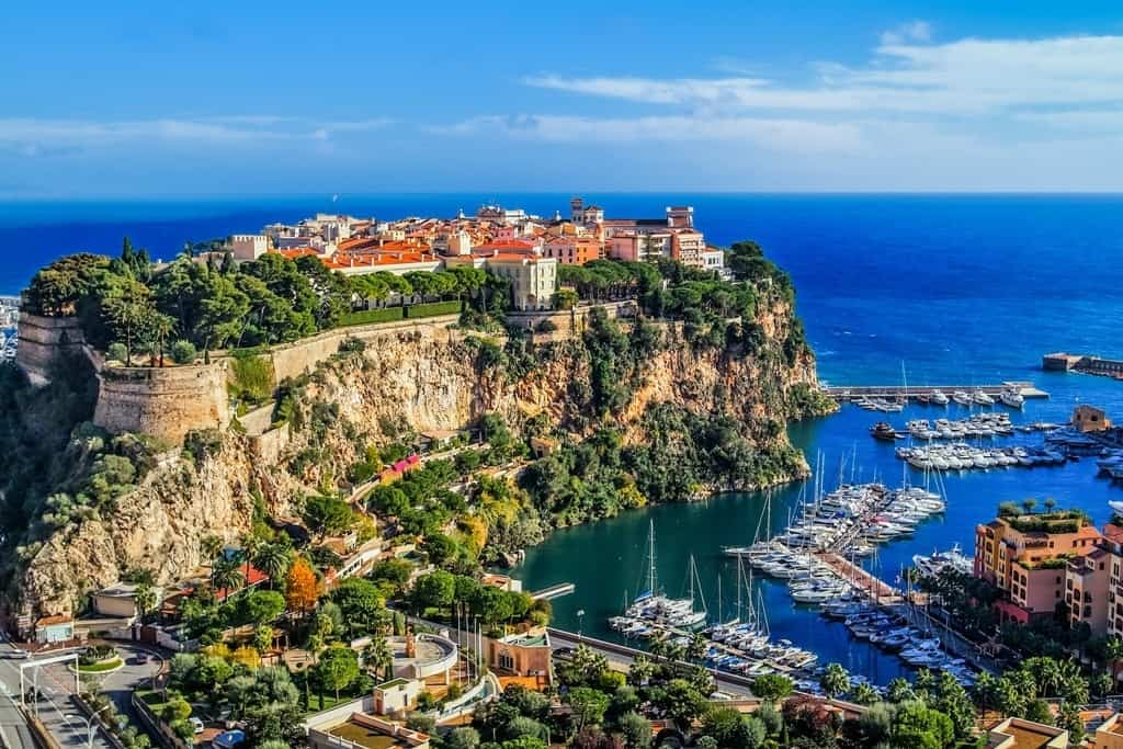 Warmest Places in Europe to Visit in December - Monaco