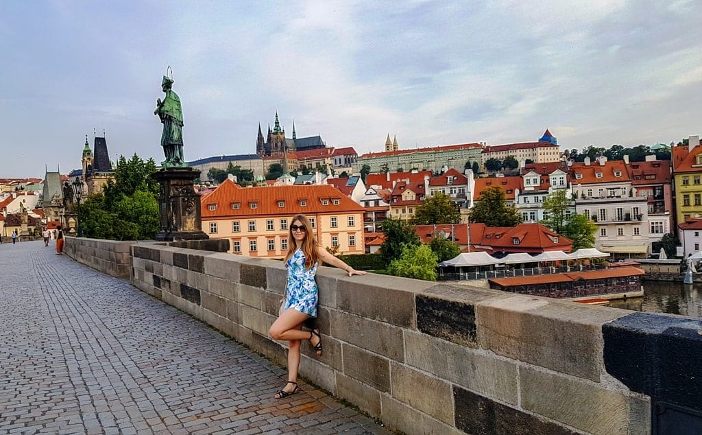 prague, vienna, budapest itinerary Charles Bridge