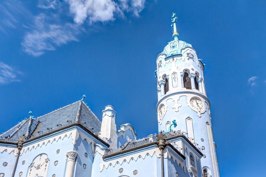 Blue church in Bratislava