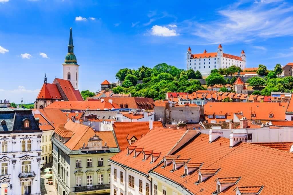 one day in Bratislava Slovakia