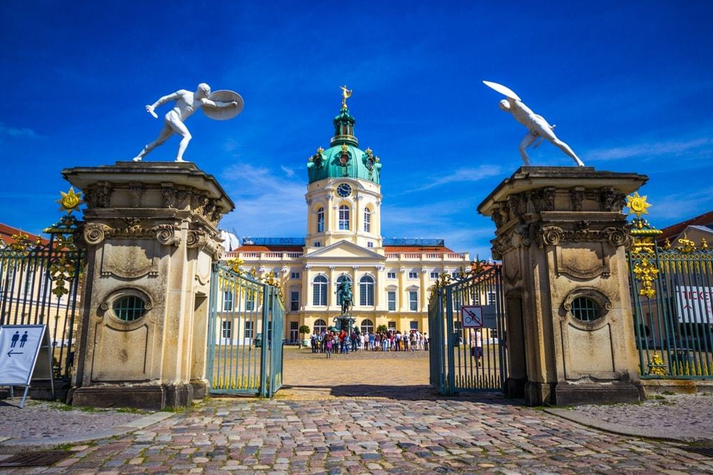 Charlottenburg palace - 4 days in Berlin itinerary