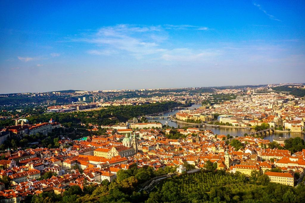 3 days in Prague - Petrin Tower View