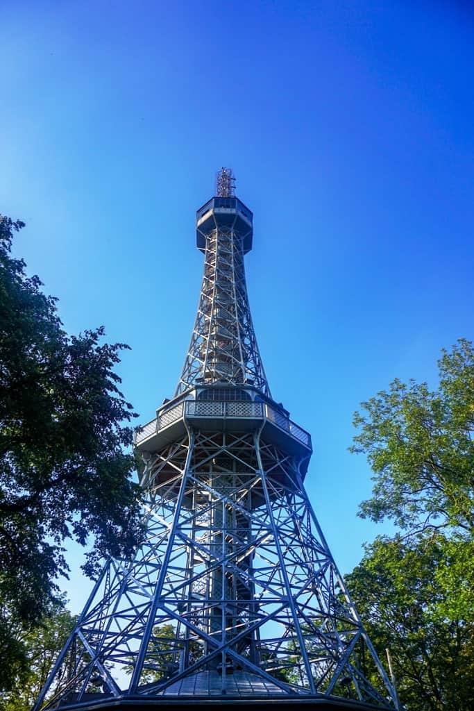 3 days in Prague - Petrin Tower