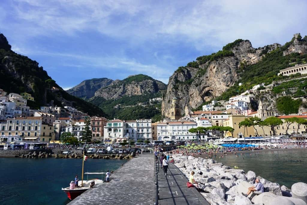 Beautiful Amalfi Coast Towns and Villages - Amalfi