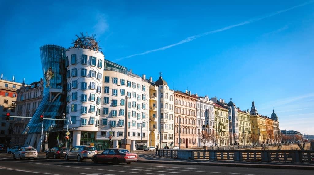 Dancing Houses - things to see in Prague in 3 days