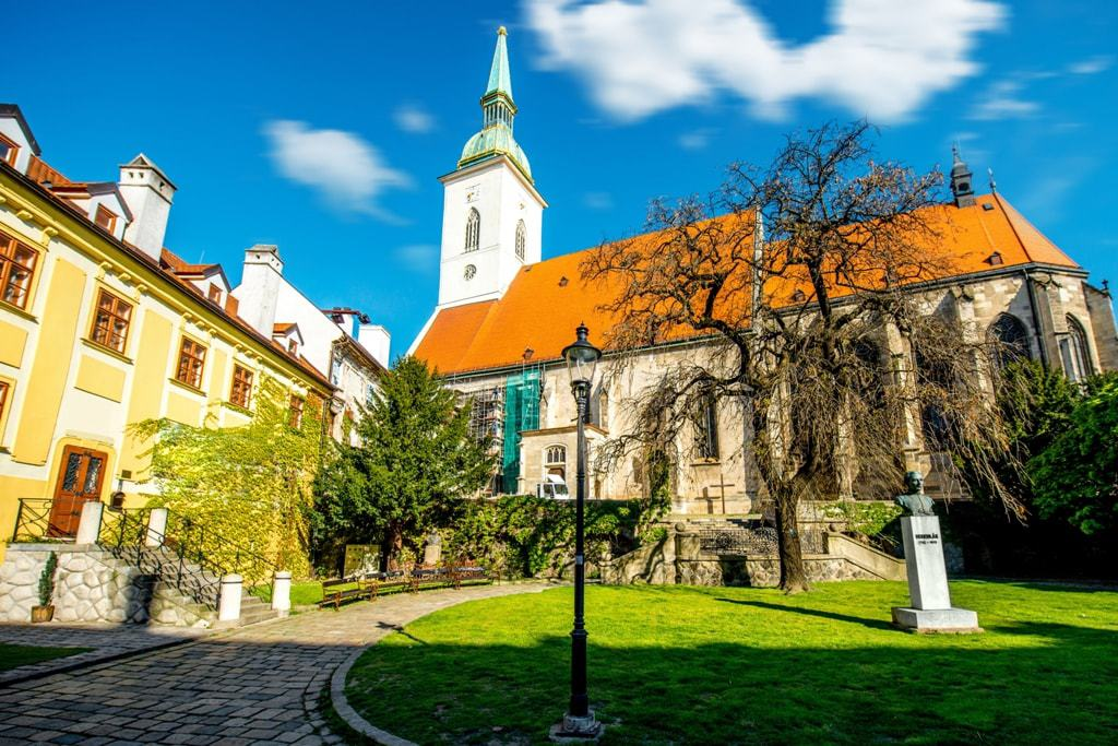 St. Martins Cathedral - 1 day in Bratislava itinerary