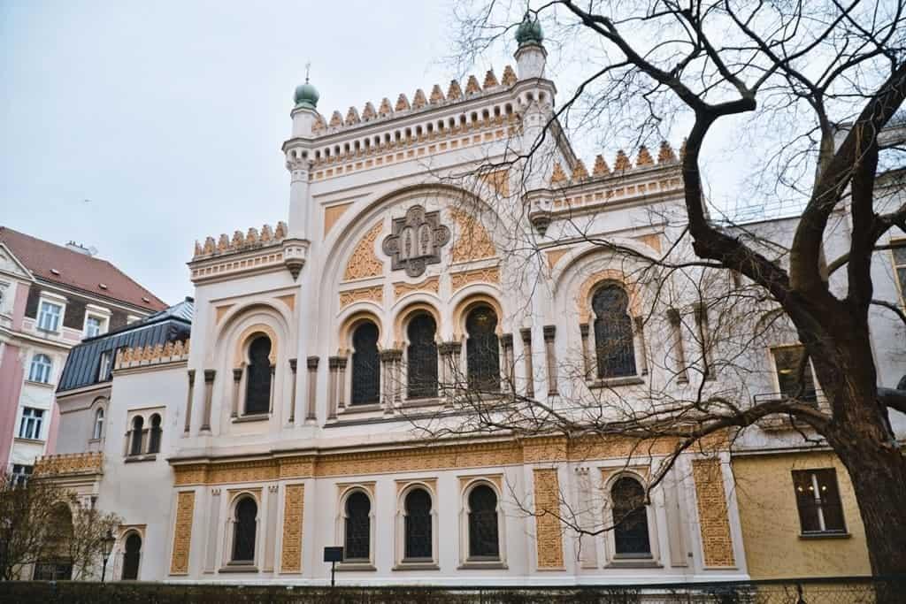3 days in Prague - Spanish Synagogue in the Jewish quarter