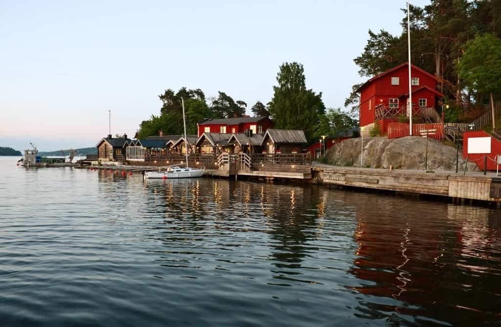 Fjaderholmarna Stockholm's nearest archipelago islands - three days in Stockholm
