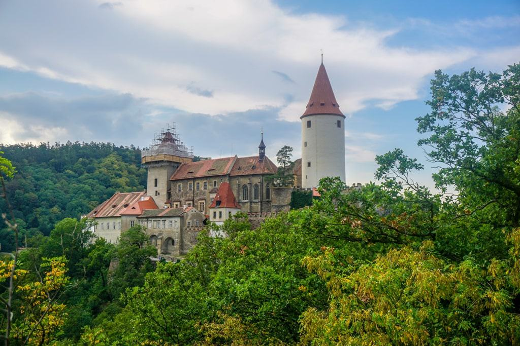Křivoklát Castle - castles to visit in Central Bohemia