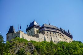Karlštejn Castle - castles to visit in Central Bohemia