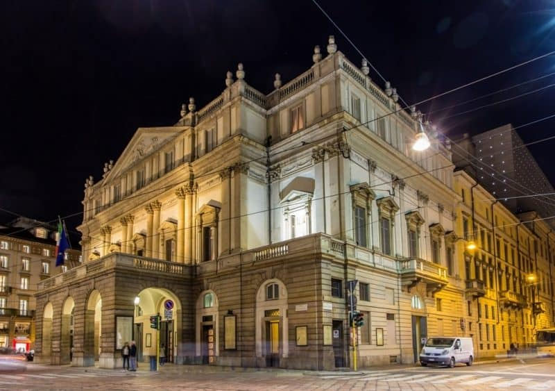 La Scala - Northern Italy itinerary
