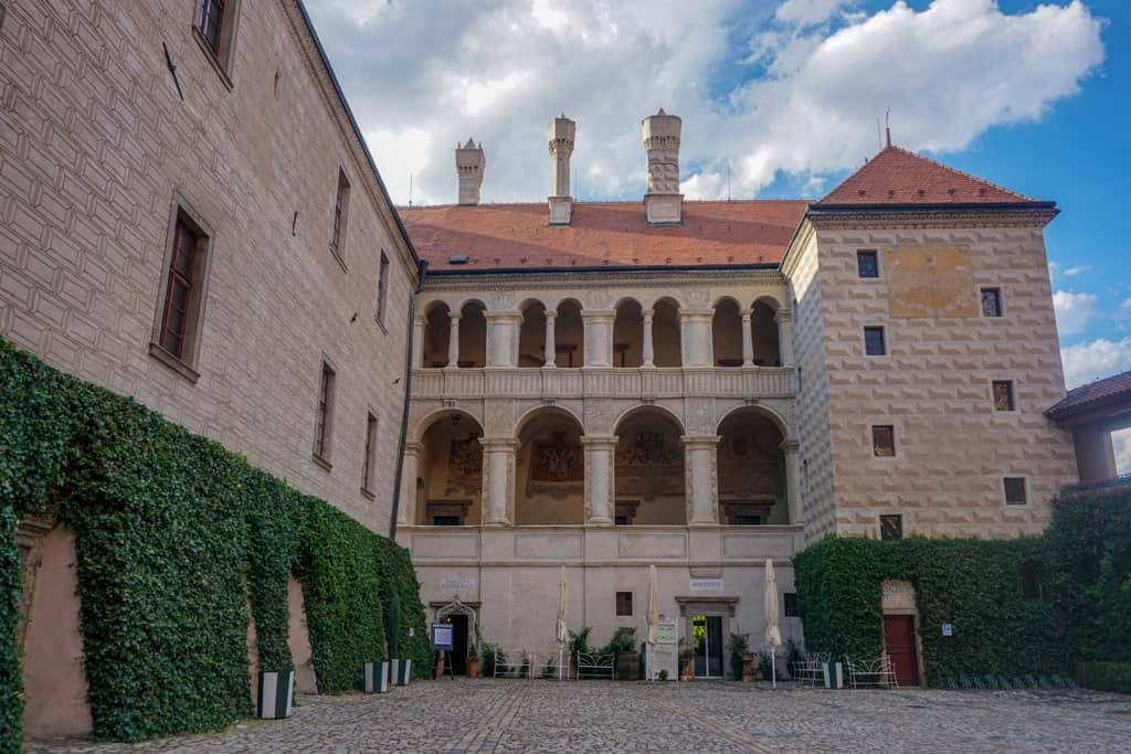 Mělník Chateau - Castles to visit in Central Bohemia