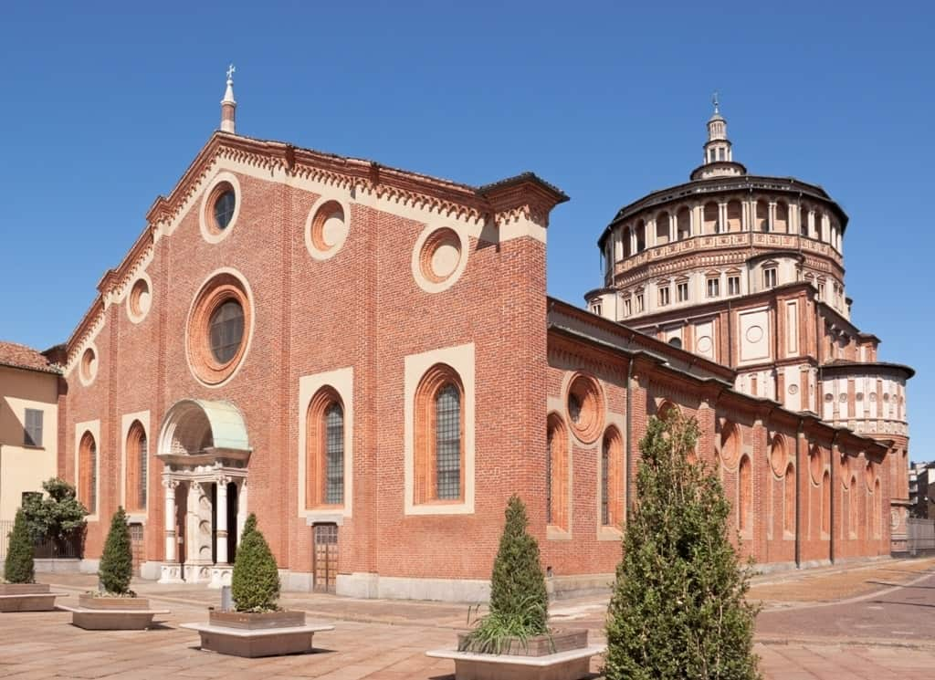 Santa Maria delle Grazie - 1 day in Milan itinerary