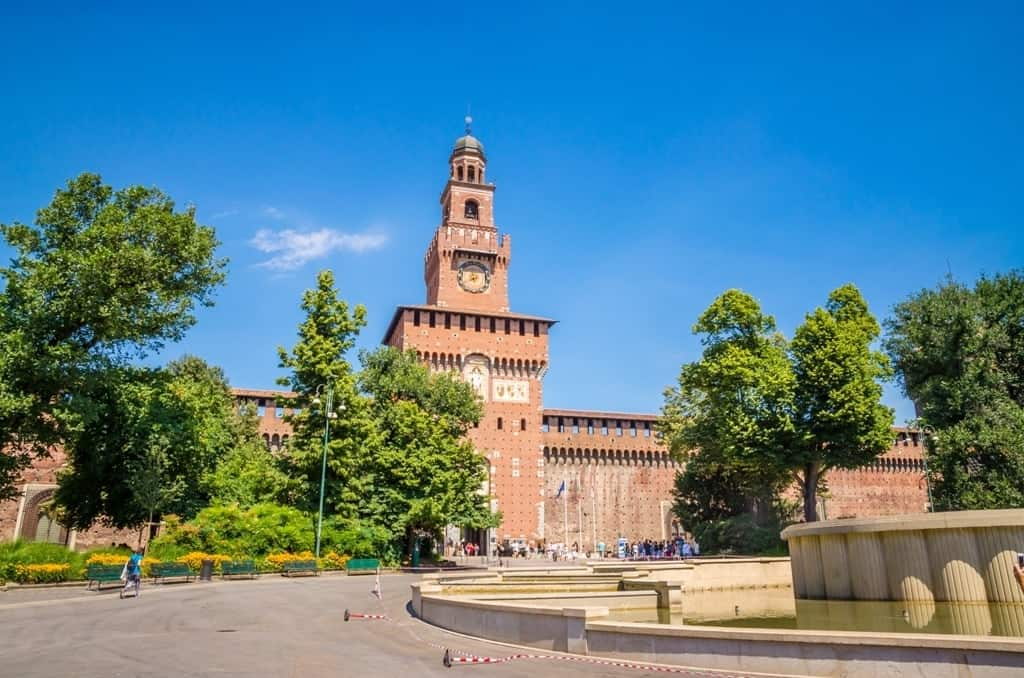 Castello Sforzesco - Milan in a day