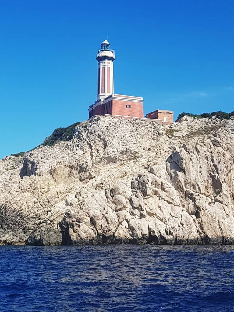 Punta Carena Lighthouse - what to do in Capri island