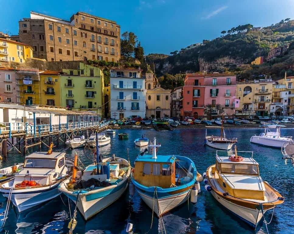 Beautiful Amalfi Coast Towns and Villages - Sorrento