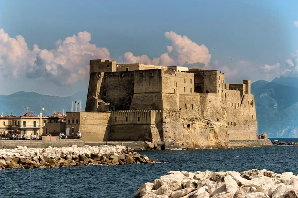 Castel dell'Ovo - 3 days in Naples Italy