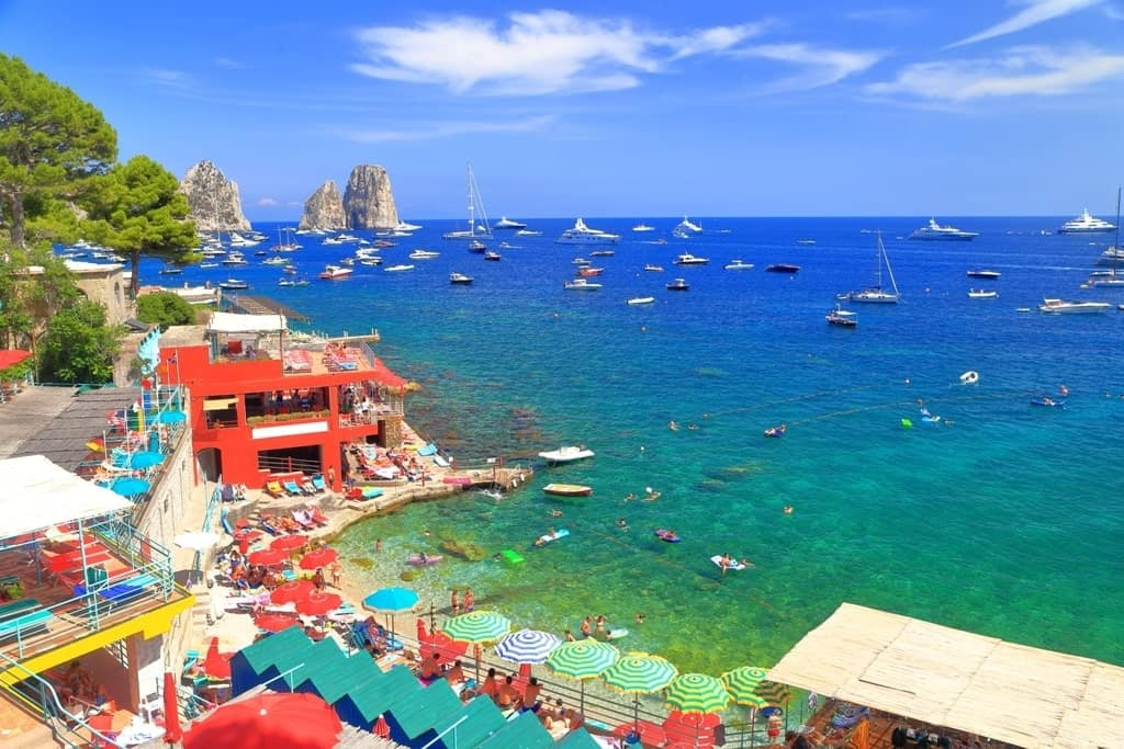 Marina Piccola - what to do in Capri