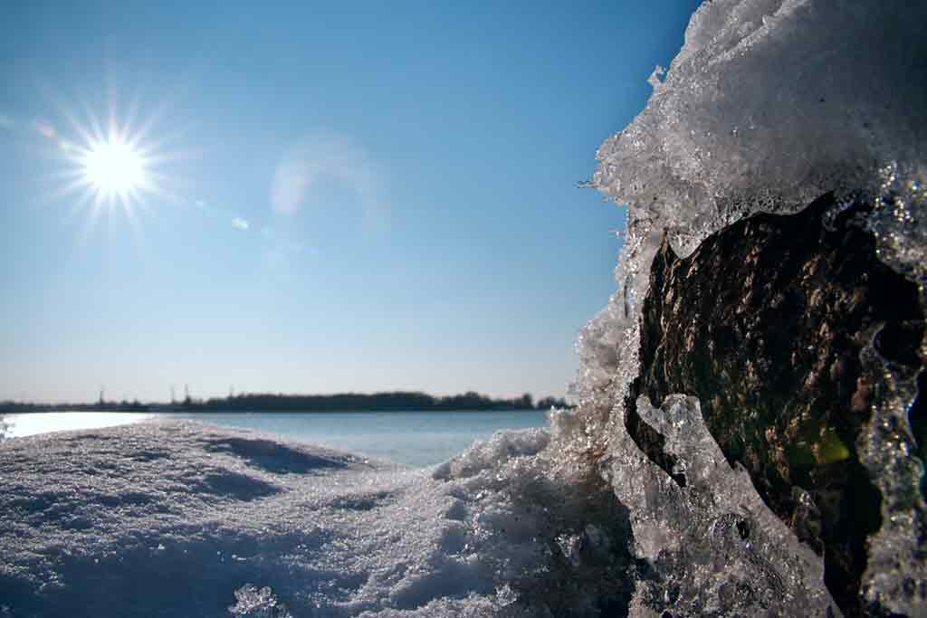 things to do in Riga in winter Sea Ice Formations