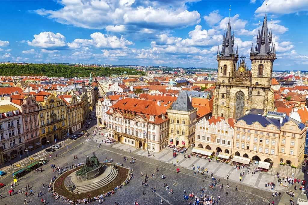Eastern Europe itinerary - Prague