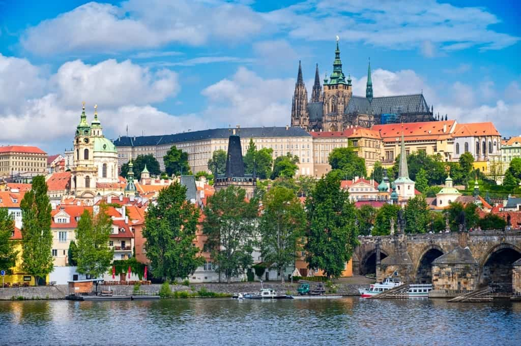 Eastern Europe travel itinerary - Prague Castle