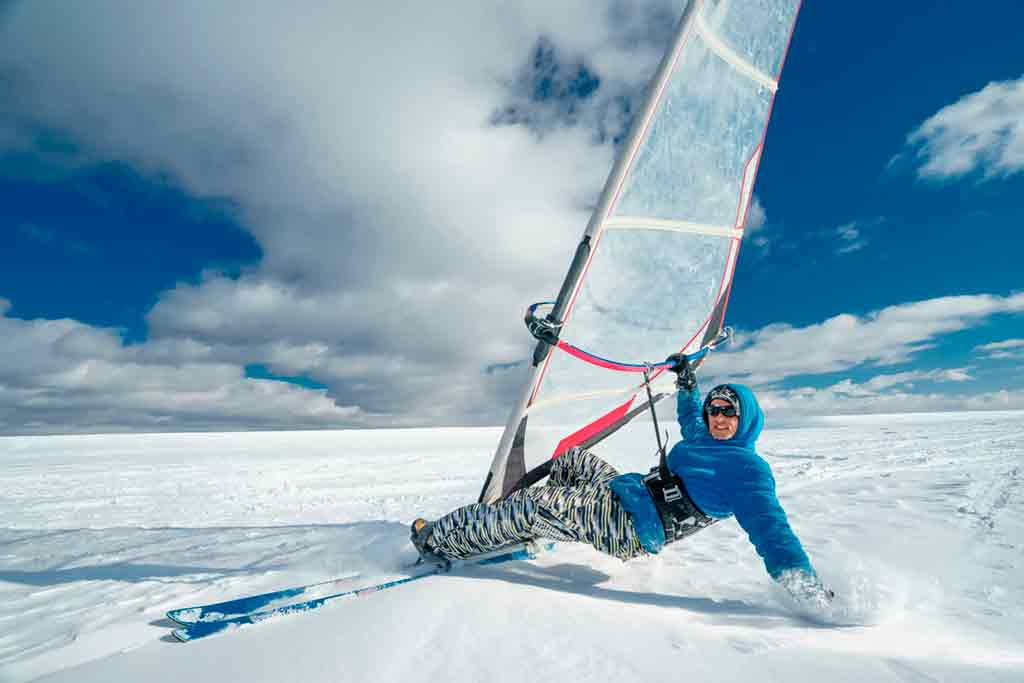Windsurf on Ice