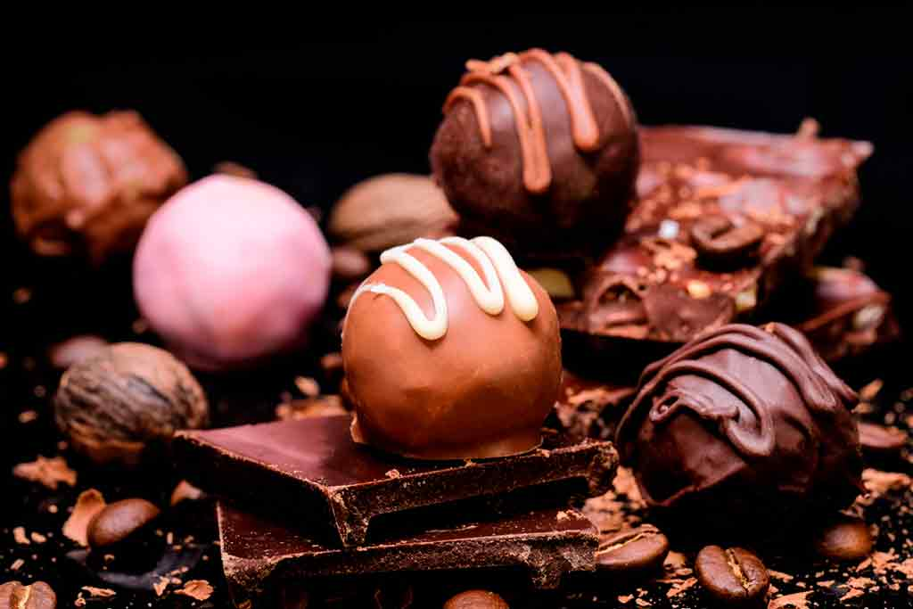 things to do in Riga in winter chocolate-truffles