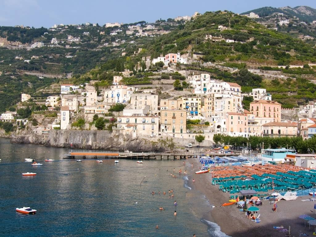 Beautiful Amalfi Coast Towns and Villages - Minori