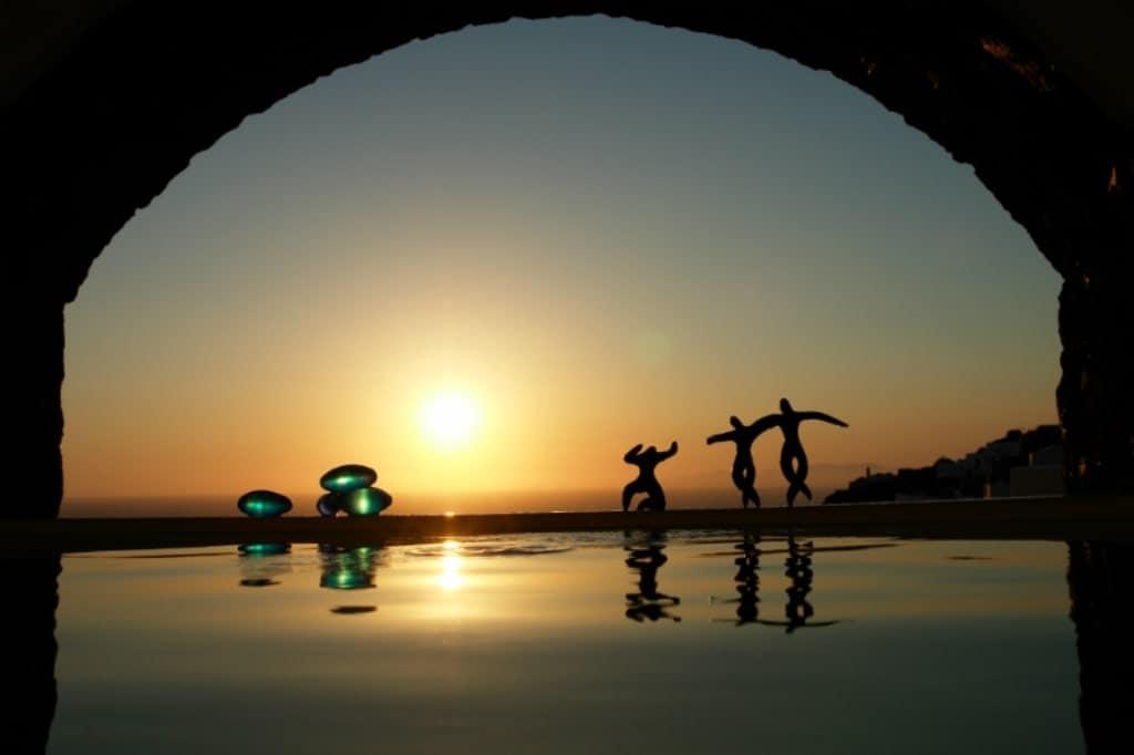 Art Maisons Oia Castle Hotel Santorini - romantic places in Greece