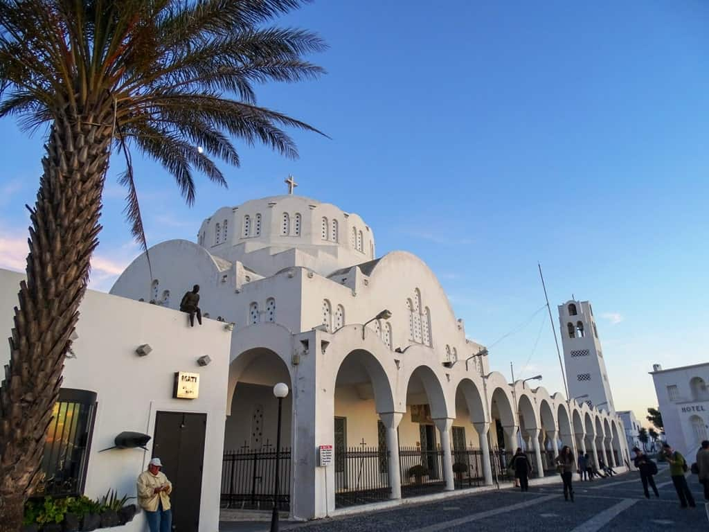 Things to do in Fira - explore the churches