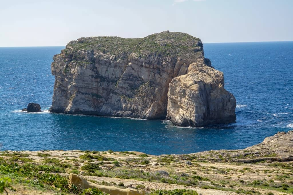 Things to do in Gozo - See Fungus Rock