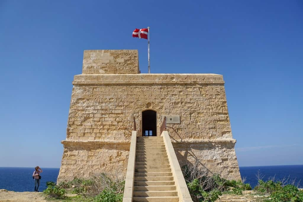 Things to do in Gozo - Dwejra Tower