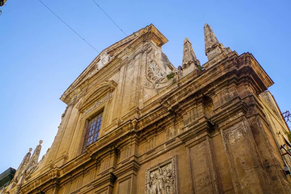 Chiesa Santa Ninfa ai Crociferi, Palermo