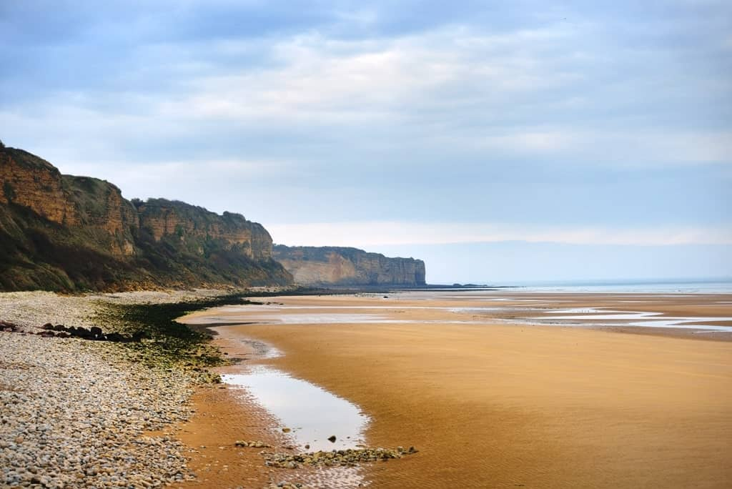 Omaha Beach In Normandy France D Day Monument Min