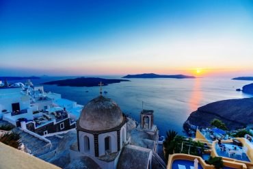 Things to do in Fira, santorini watch the sunset