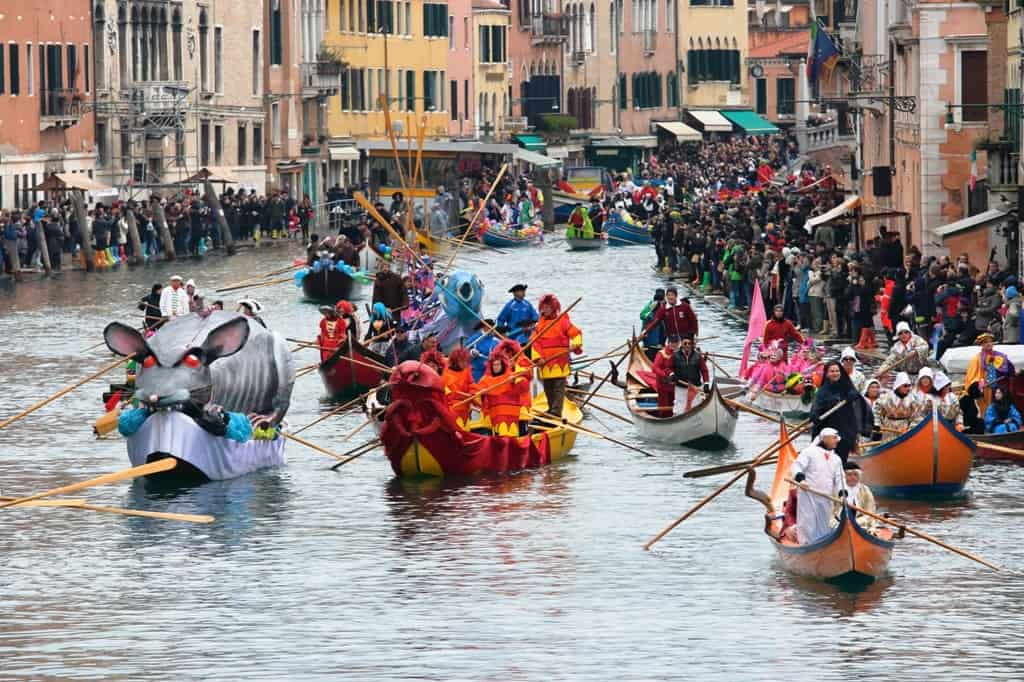 best places to visit in europe in February - Venice Carnival