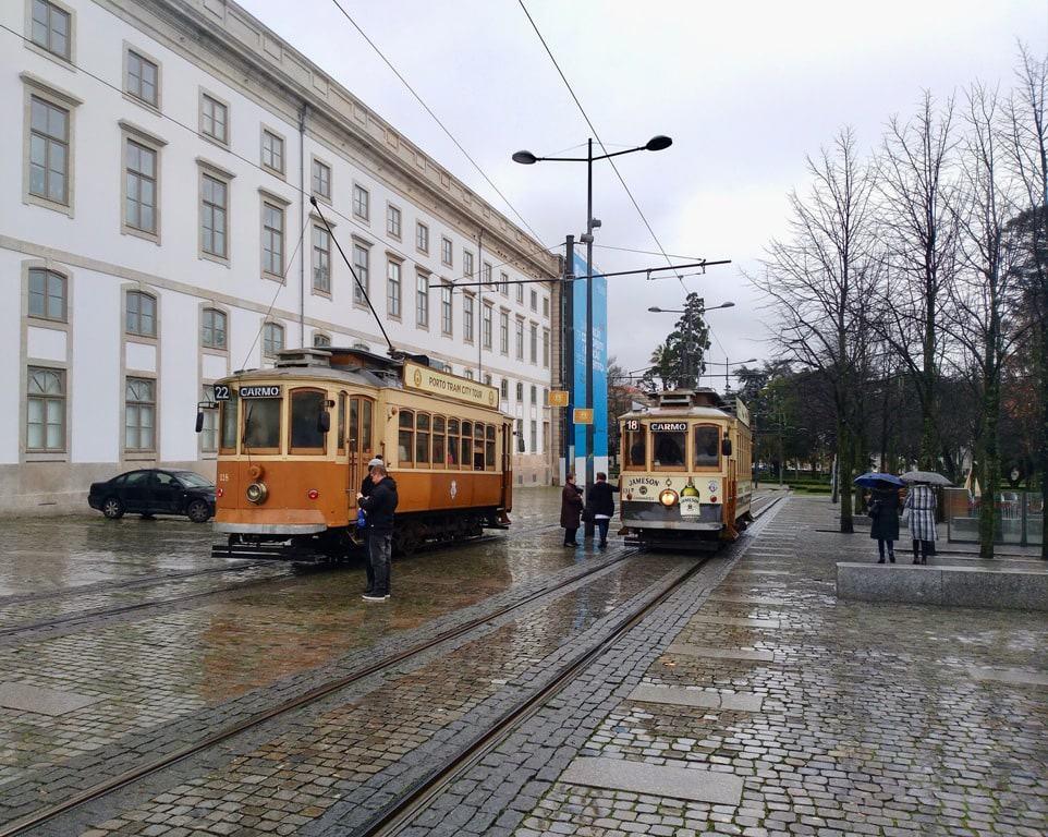 historical tram line - 2 days in porto