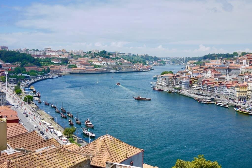 View from Luis bridge - 2 days in Porto