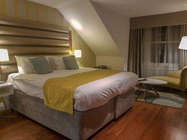 hotel Indigo edinburgh bedroom
