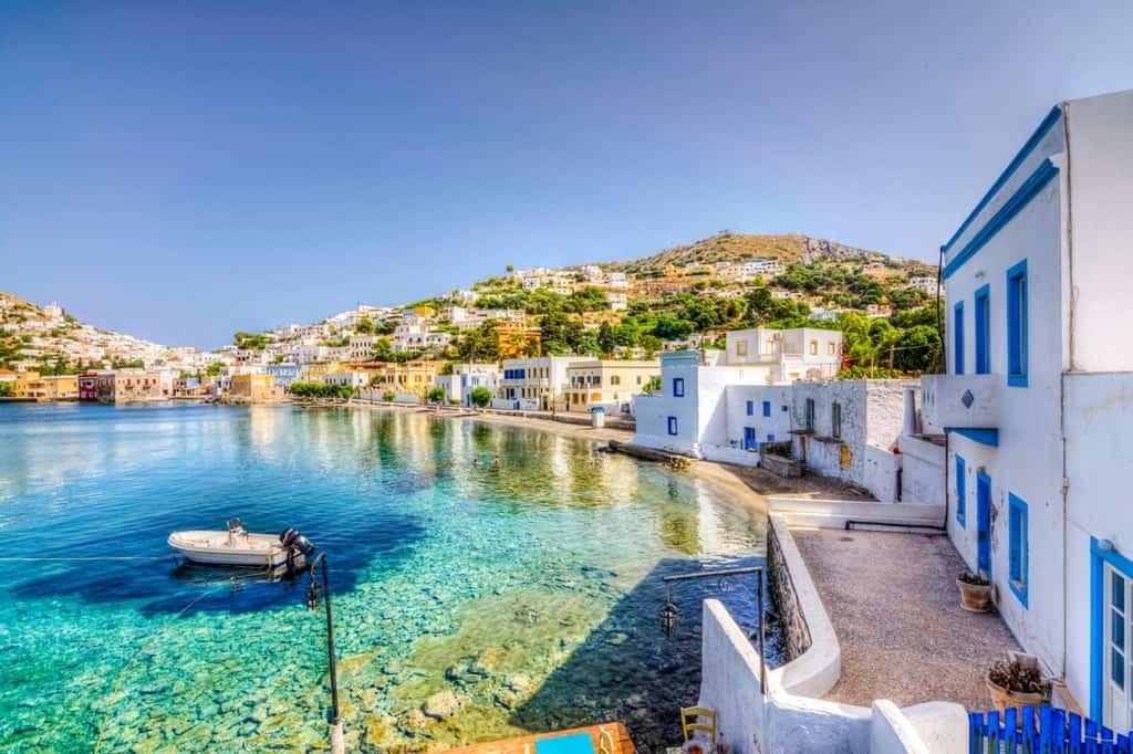 Agia Marina in Leros