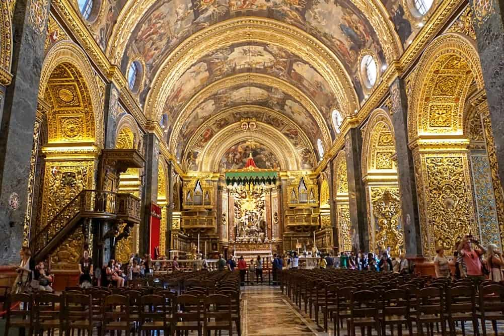 St John's Cathedral - what to do in Malta in 3 days