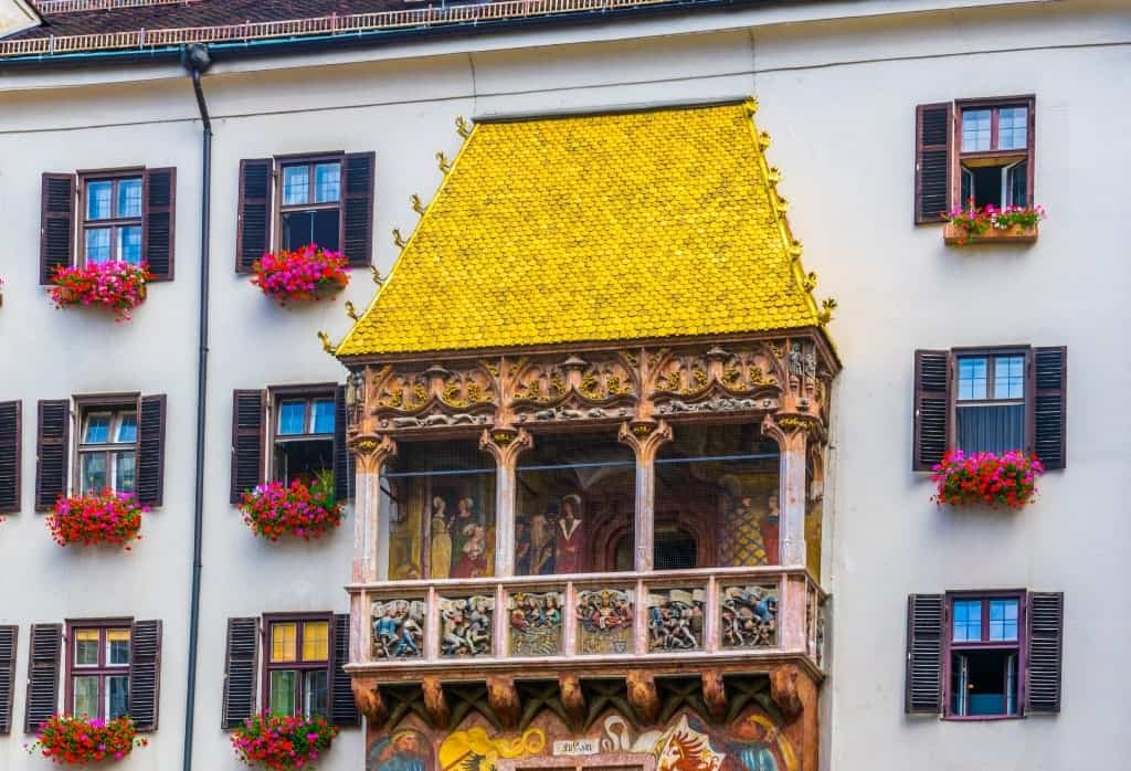 The Golden Roof - Things to do in Innsbruck in winter